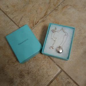 Tiffany & Co. Elsa Peretti Open Bottle Pendant